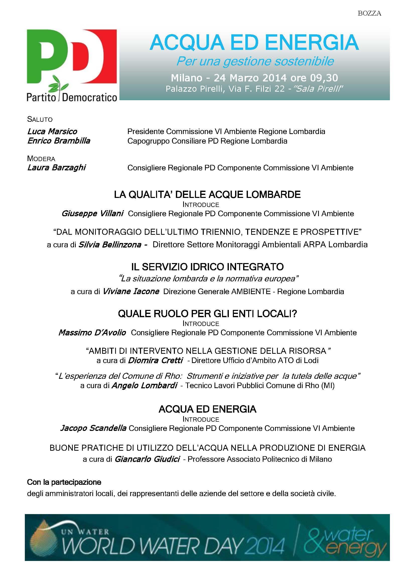 Locandina Acqua ed Energia 24.03.2014