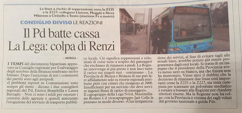 Il PD batte cassa La Lega: colpa di Renzi